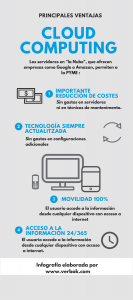 Servidores Cloud de Google