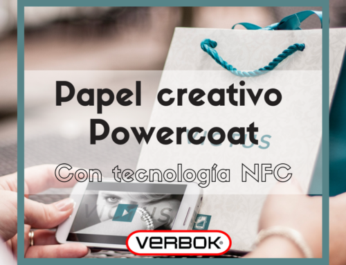 Un papel creativo con tecnología NFC incorporada