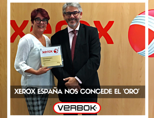 Xerox España concede el 'oro' a VERBOK